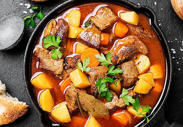 Beef Stew Food Processing